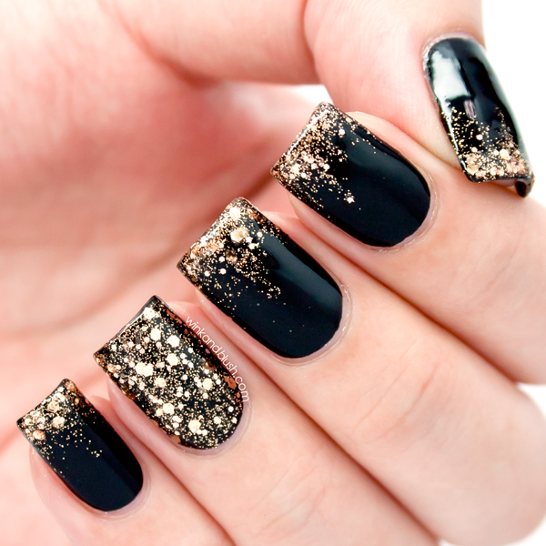 Glitter Ombré Tutorial—Quick Nails! | Wink And Blush