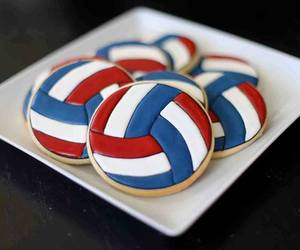 Cookies, delicious, and volleyball image