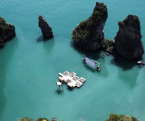 sea, cinema, and thailand image