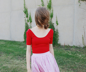 bright colors, girl, and skirt image
