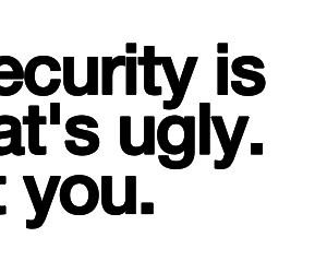 insecurity and quote image
