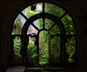 abandoned, window, and awesome image
