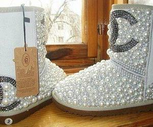 chanel, shoes, and uggs image