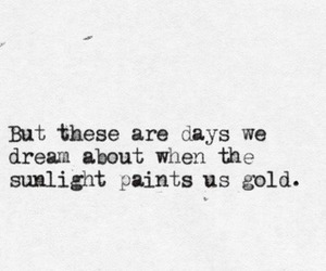 quotes, gold, and sunlight image