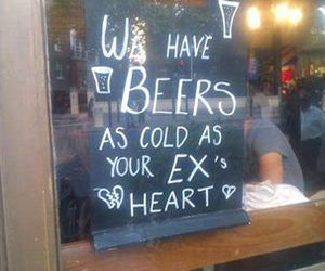 beer, ex, and funny image