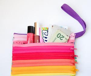 diy zipper pouch color image
