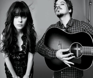 zooey deschanel, she & him, and she and him image