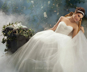 dress, cinderella, and wedding image