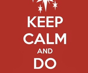 keep calm, MLP, and red image