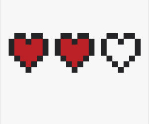 pixel and love image