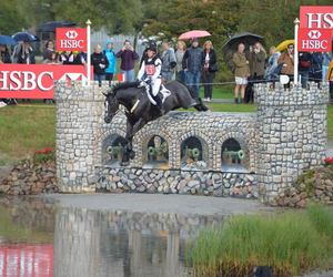 cross country, horse, and jumping image
