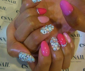 glitters, pink, and love image