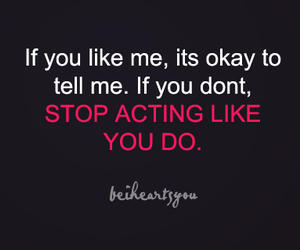 text, acting, and like image
