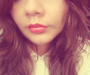 beautiful, girl, and pink lips image