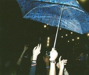 grunge, umbrella, and hipster image