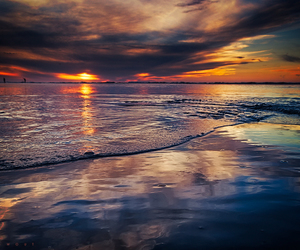 ocean, photography, and sky image