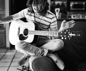 guitar, hanson, and zac hanson image