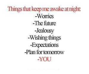 night, you, and worry image