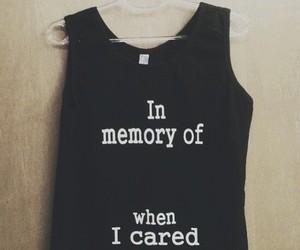 care, fashion, and shirt image