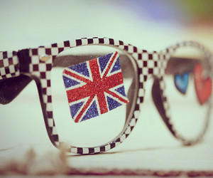 glasses, london, and england image