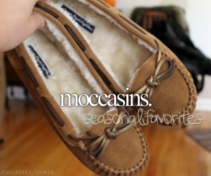 autumn, fall, and moccasins image