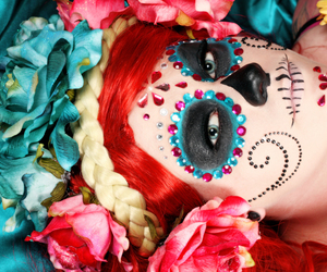 make up, red hair, and pretty image