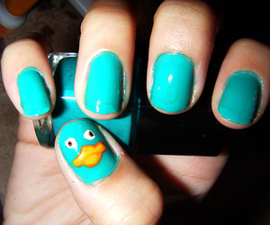 perry, blue, and nails image