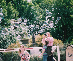vintage, bubbles, and family image