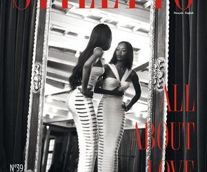 black woman, fashion, and supermodel image