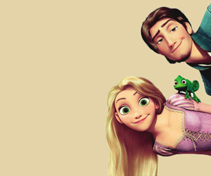 couple, tangled, and disney image
