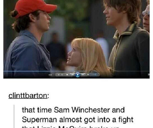 funny, lizzie mcguire, and sam winchester image