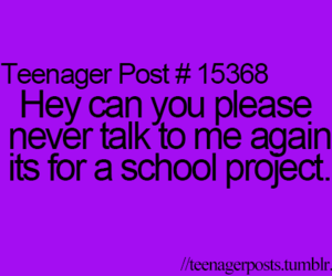 teenager post, talk, and teenager image