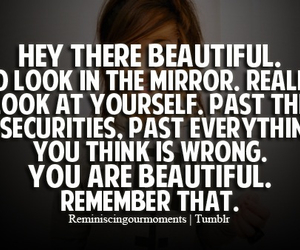 beautiful, girl, and quote image