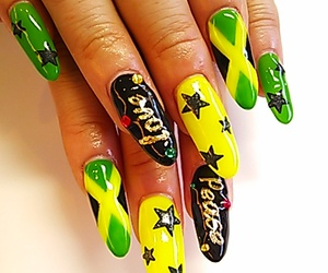 cool, girl, and nail image