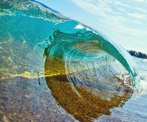waves, summer, and water image