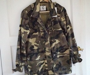 autumn, camo, and clothing image