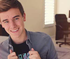 eyes, smile, and youtuber image