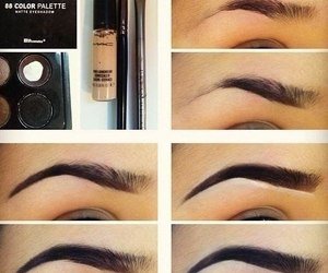 how to, tutorial, and eyebrows image