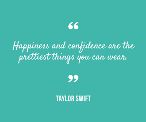 Taylor Swift, confidence, and happiness image