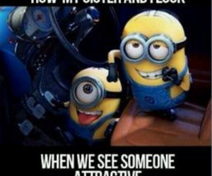 minions, funny, and attractive image