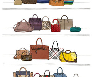 Burberry, coach, and Louis Vuitton image
