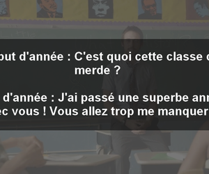 ecole, cour, and classe image