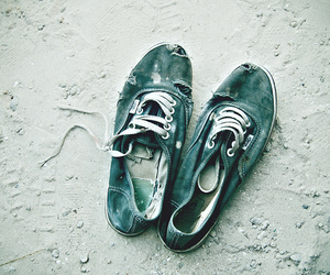 vans, shoes, and old image