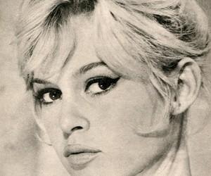 brigitte bardot, classic, and retro image