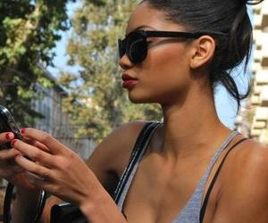 girl, model, and Chanel Iman image
