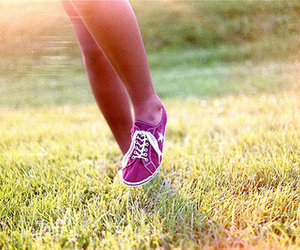 feet, photography, and grass image