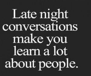 people, conversation, and night image