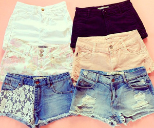pretty, cute, and shorts image