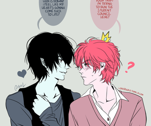 marshall lee and prince gumball image