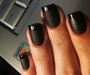 atitude, black, and nails image